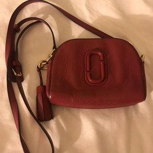 A Maroon purse